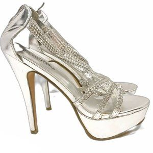 Sparkly Fashion High Heels Stilettos Size 7